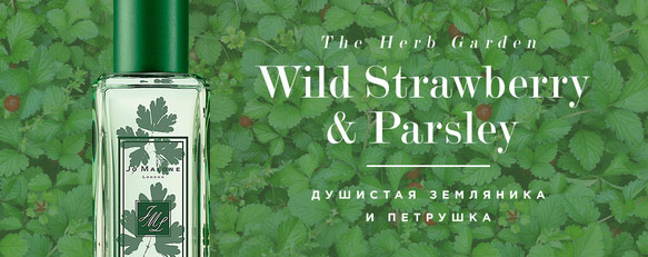 Wild Strawberry & Parsley